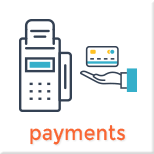 Main Naivigation Payments Page Menu Item