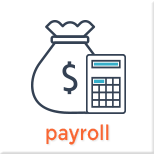 Main Naivigation Payroll Page Menu Item